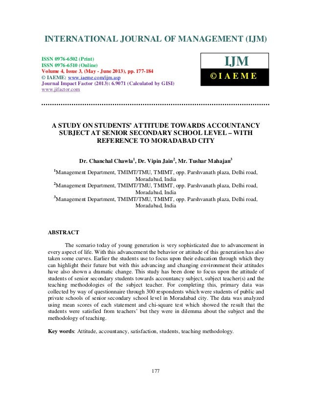 International Journal of Management (IJM), ISSN 0976 – 6502(Print), ISSN 0976 - 6510(Online), Volume 4, Issue 3, May- June...