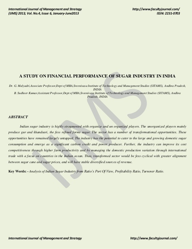 International Journal of Management and Strategy (IJMS) 2013, Vol. No.4, Issue 6, January-June2013  http://www.facultyjour...