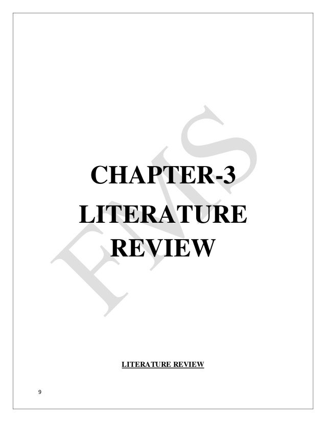 Literature review on buyer behaviour : Literature, review