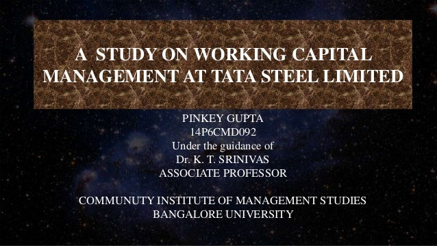 capital structure of tata steel case study Through a case study on the tata iron and steel company  selling steel in the 1920s eldon s capital expenditures in the steel industry 1900 to 1953.