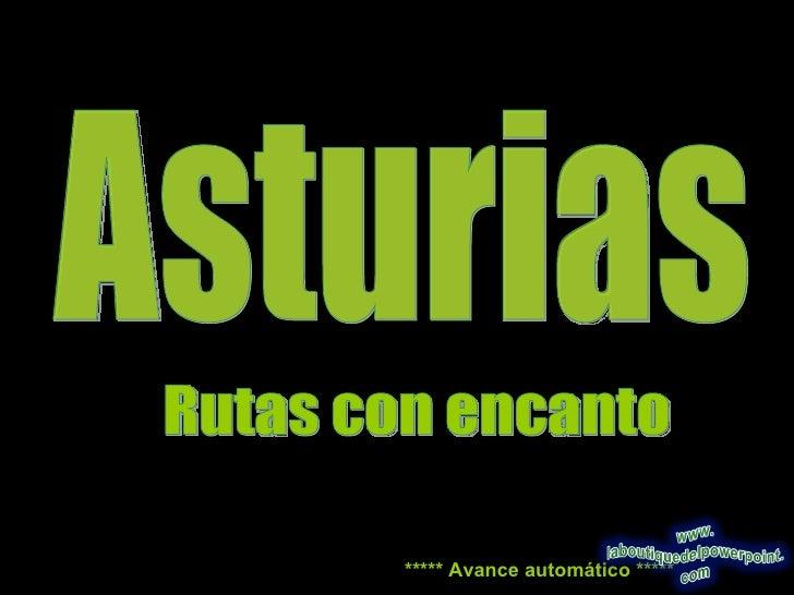 Asturias Rutas
