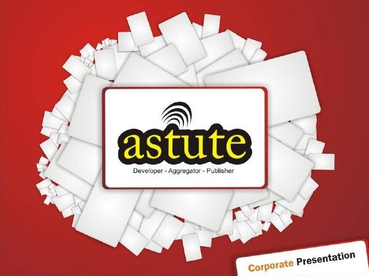 Astute Corporate Profile