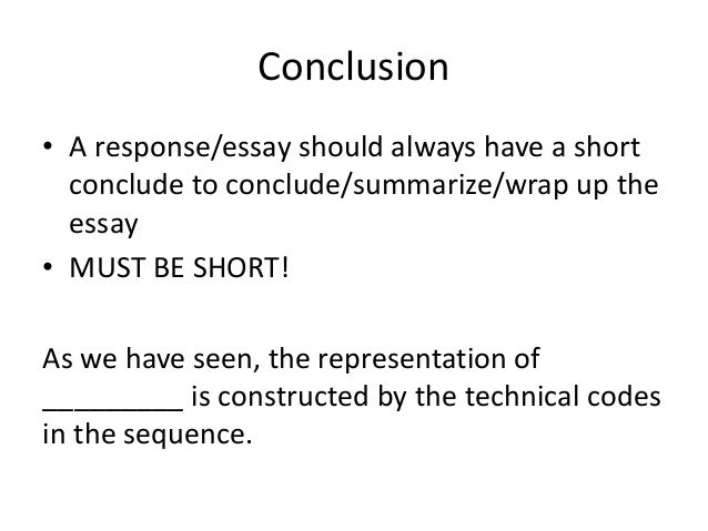 ways conclude essay without saying conclusion As you probably noticed given the variety of essay conclusion examples above, there are a lot of ways to end an essay generally, there will be a summary, but narrative essays might carry an exception.