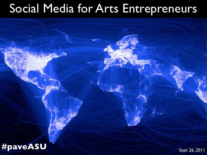 Social Media for Arts Entrepreneurs at ASU