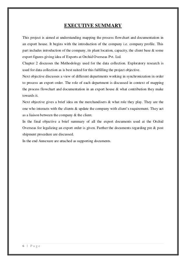 Internship introduction essay