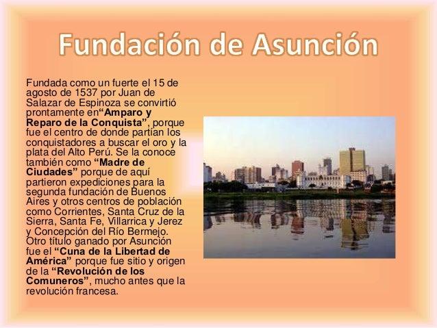 Resultado de imagen para asuncion paraguay 7 colinas