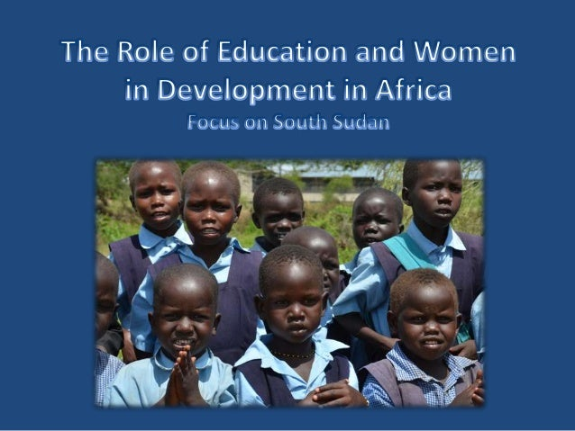 """The Role of Education and Women in Development"" by Birgit Philipsen (Adventist Development & Relief Agency)"