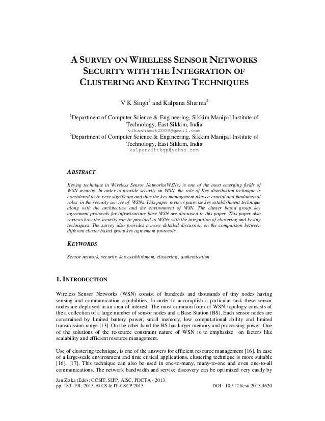 Jan Zizka (Eds) : CCSIT, SIPP, AISC, PDCTA - 2013 pp. 183–191, 2013. © CS & IT-CSCP 2013 DOI : 10.5121/csit.2013.3620 A SU...