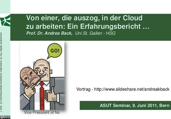 Von einer, die auszog, in der Cloud                                                                                       ...