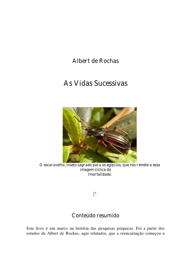 As vidas sucessivas_-_albert_de_rochas