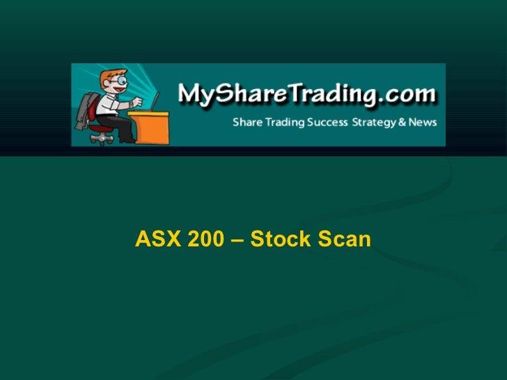 ASX Stockmarket ASX200 Mid-Week Market Scan