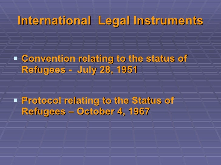 an overview of the 1951 convention relating to the status of refugees and the universal declaration  The world is witnessing the highest levels of displacement on record an unprecedented 656 million people around the world have been forced from home by conflict and persecution at the end of 2016 among them are nearly 225 million refugees, over half of whom are under the age of 18 there are also 10 million stateless people, who have.