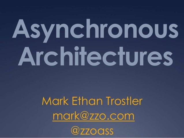 Multi-Process JavaScript Architectures