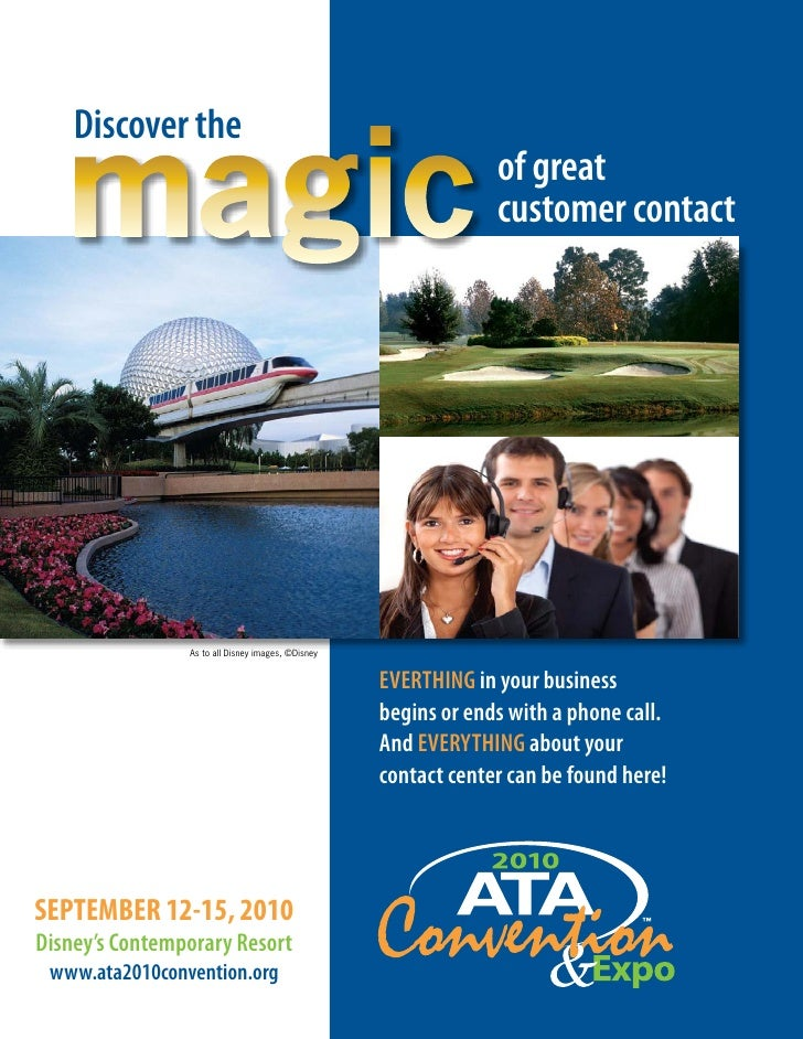 ATA 2010 National Convention Brochure