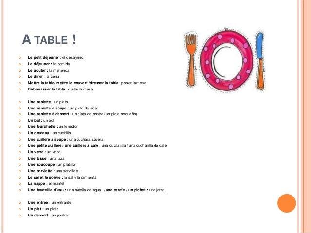 A table - Comment mettre un couvert de table ...