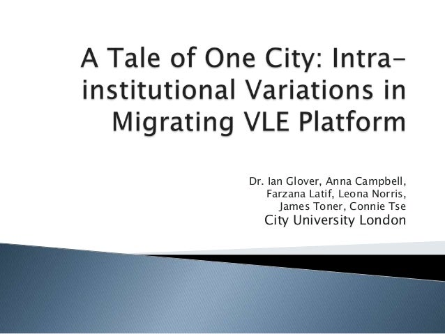 A Tale of One City: Intra-institutional Variations in Migrating VLE Platform