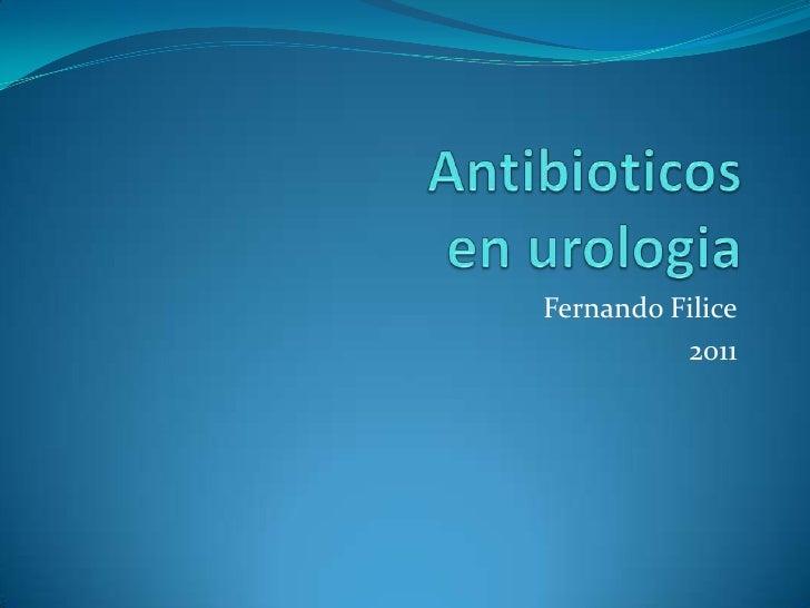 Atb en Urología