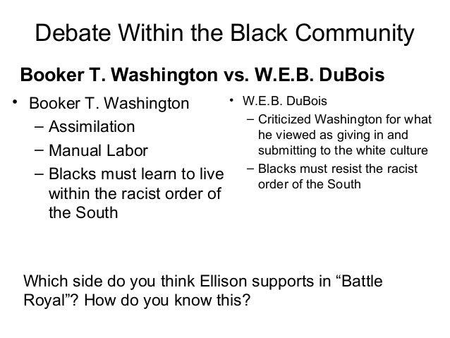 give me essay on w.e.b. dubois