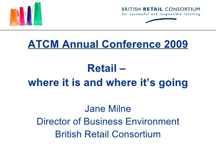 UK Retail - Where It Is And Where Its Going