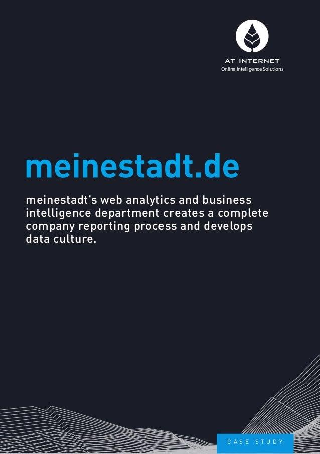 [Case study] meinestadt's web analytics department develops data culture.