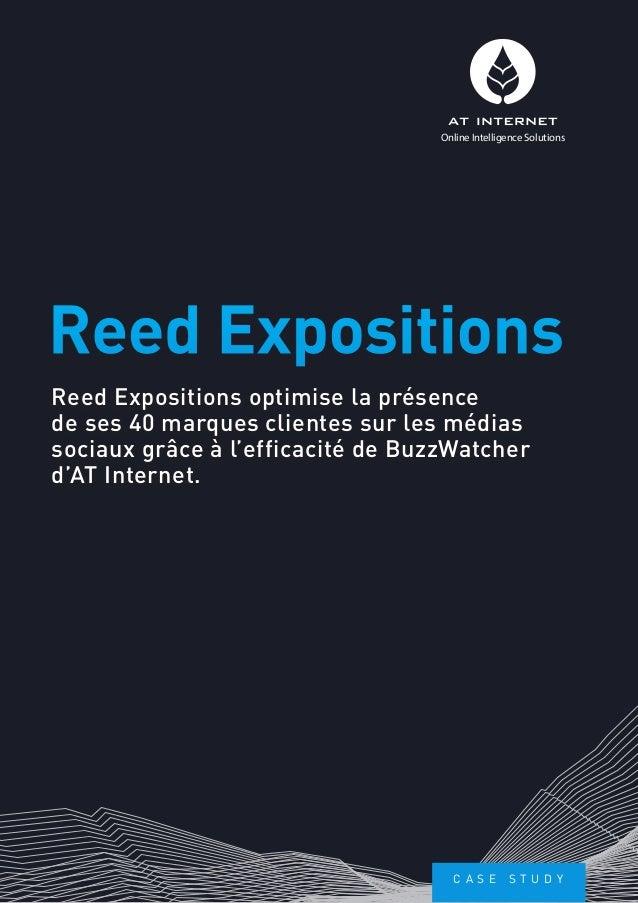 Reed Expositions optimise sa présence sur les médias sociaux grâce à BuzzWatcher d'AT Internet.