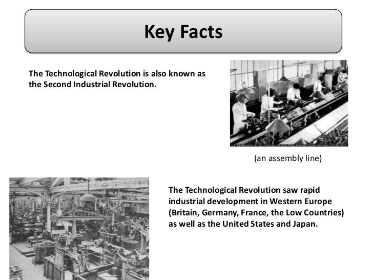impact of the technological revolution The impact of the first industrial revolution, which began in britain in the 1780s did not fully begin to be felt until the 1830s and 1840s today technological change happens like a tsunami you see small signs at the shore, and suddenly the wave sweeps in.