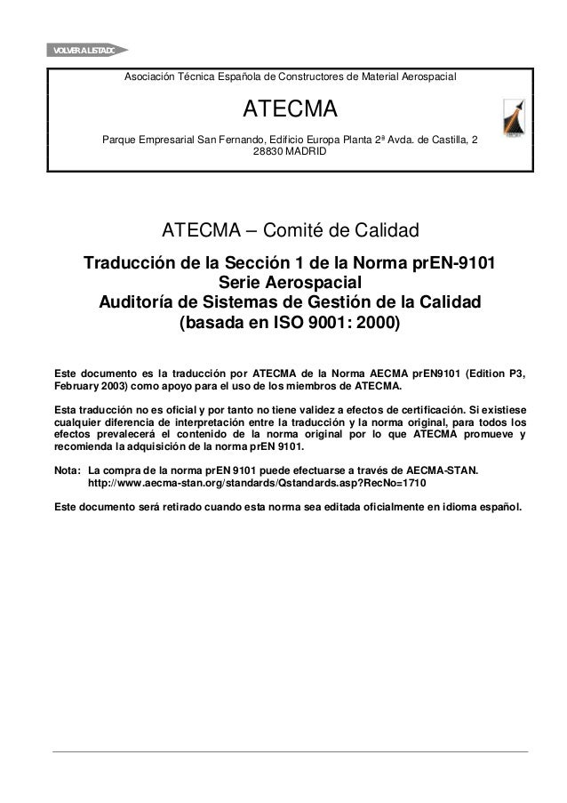 VOLVER A LISTADO                   Asociación Técnica Española de Constructores de Material Aerospacial                   ...