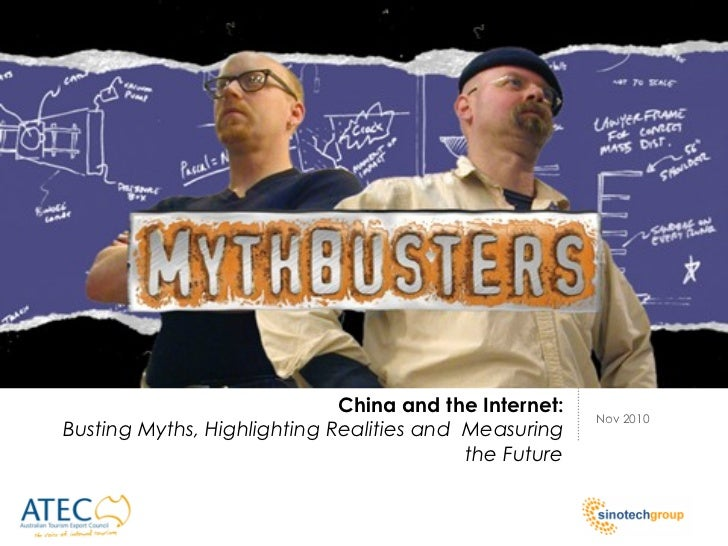 China and the Internet:                                                       Nov 2010Busting Myths, Highlighting Realitie...