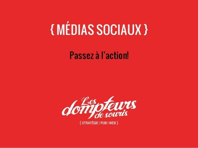 Médias sociaux - passez à l'action!