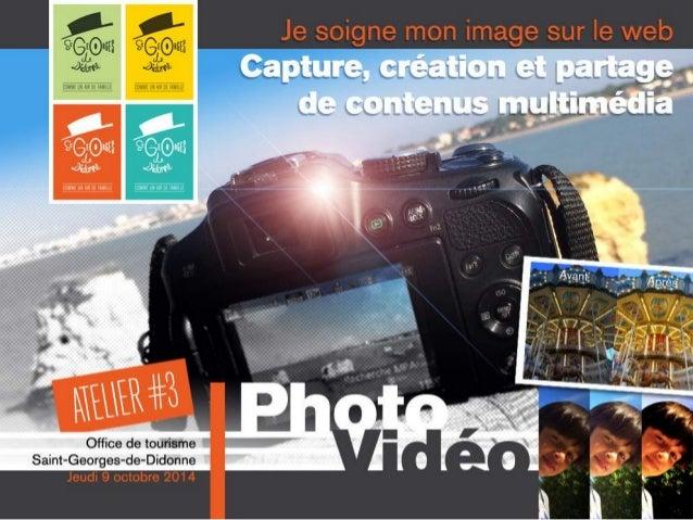 SOMMAIRE JEUDINUMÉRIQUE#3 Photo Vidéo • E-tourisme • Quelques chiffres • Réseaux Sociaux • Réglementation • Éditeurs • Pix...