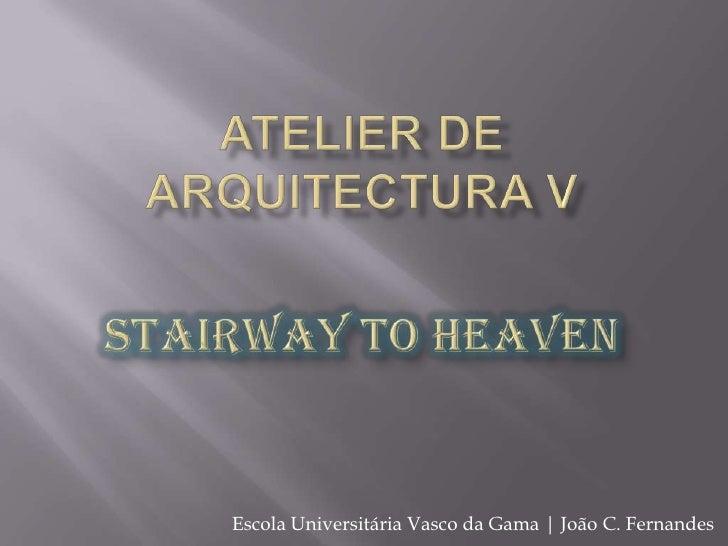 Atelier de Arquitectura V