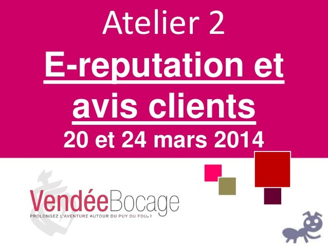 Atelier E-Reputation et Avis Clients
