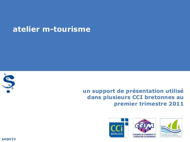 Atelier Mobile pour les professionnels du tourisme