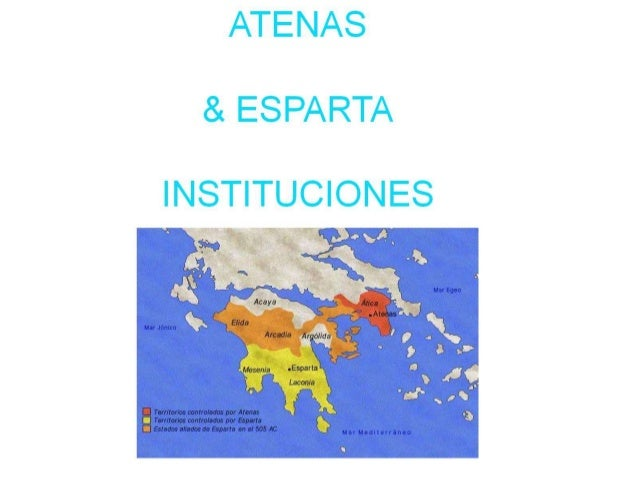 Atenas y esparta instituciones