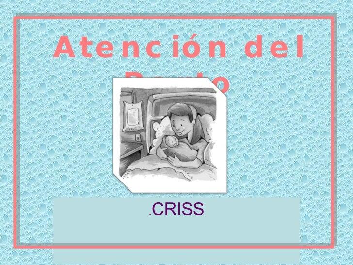 Atención del Parto . CRISS