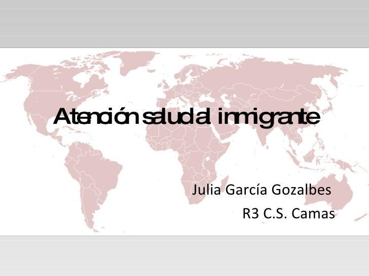 AtencióN Salud Al Inmigrante