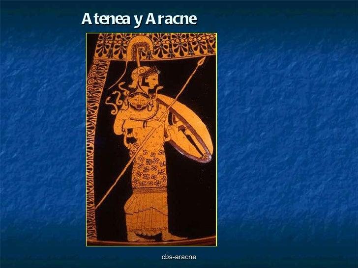 Atenea y Aracne