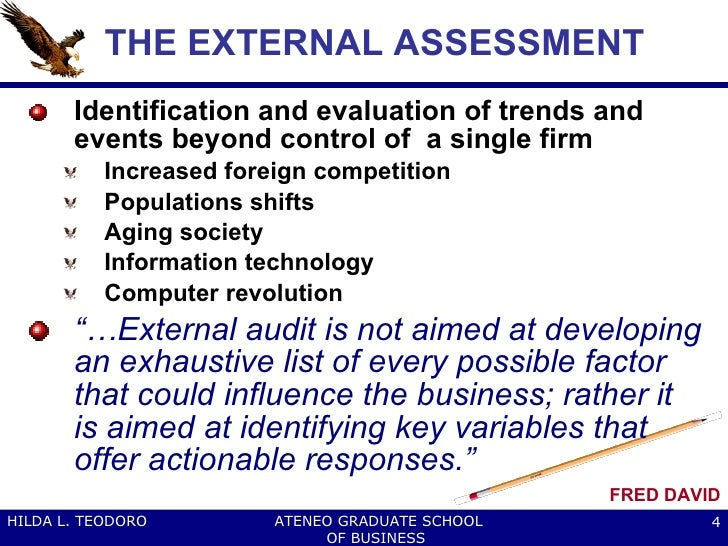 external factor