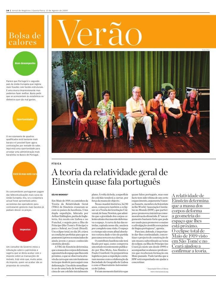 34 46   Jornal de Negócios   Quinta-Feira, 13 de Agosto de 2009                                                           ...