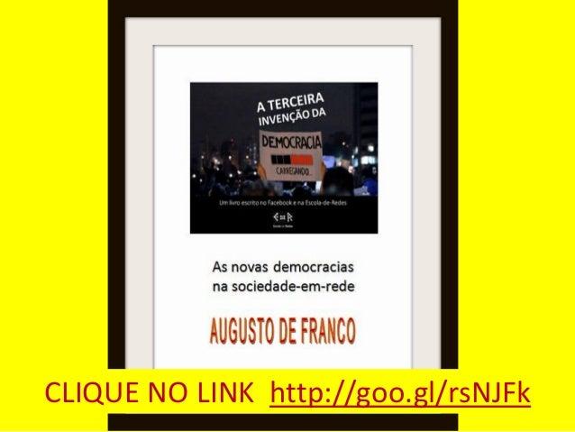 A TERCEIRA INVENÇÃO DA DEMOCRACIA