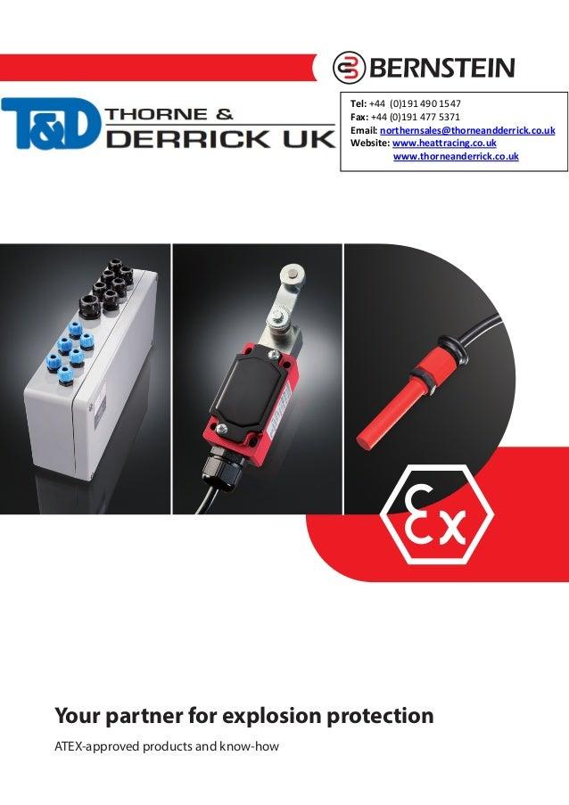Bernstein Inductive Proximity Sensors, Capacitive Sensors, Ultrasonic Sensors, Teach Sensors & Float Switches
