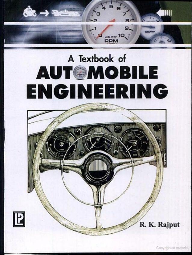 PDF Automobile Engineering by kirpal singh pdf free