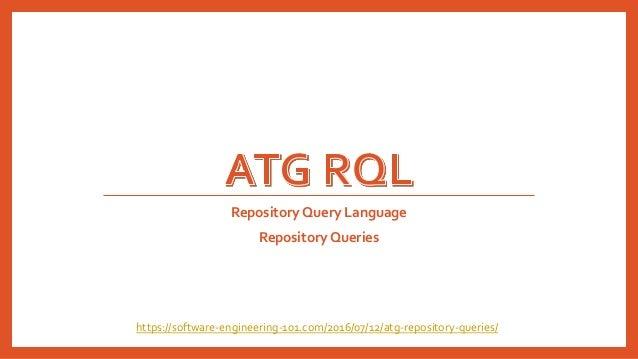 Repository Query Language