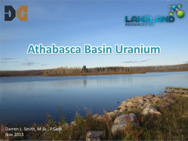 Athabasca Basin Uranium by Darren Smith