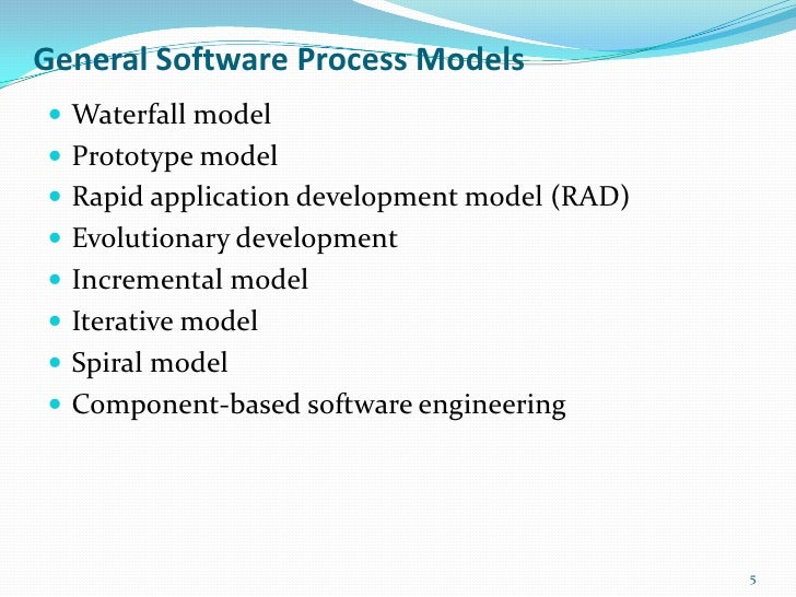 comparison between five process models of software engineering essay The systems engineering process from a t bahill and b gissing running the process models reveals bottlenecks and fragmented activities in a manufacturing environment this might mean buying commercial off the shelf hardware or software.