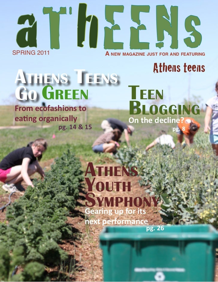 aThEENsSPRING 2011                 A new mAgAzine just for And feAturing                                             Athen...