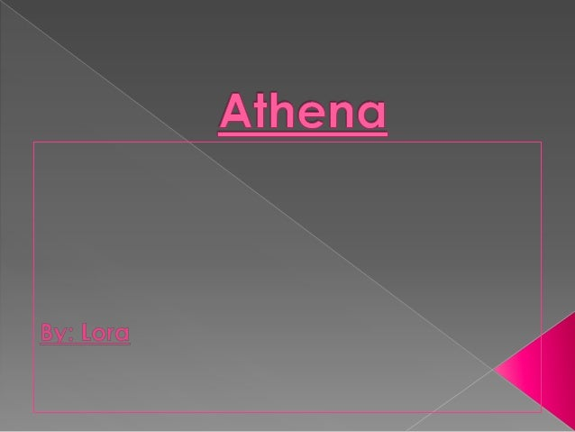 This is Athena's family tree.