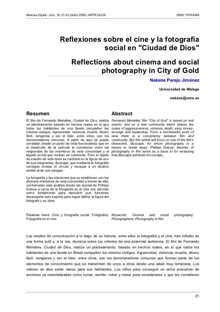Athenea digital (revista de pensamiento e investigación social),no. 9, pp 21 33