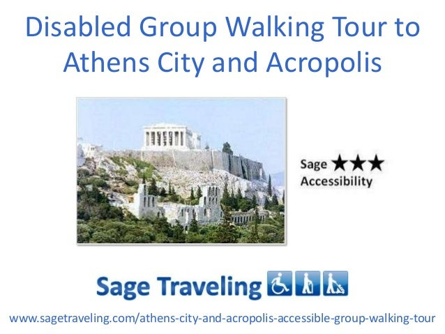 Disabled Group Walking Tour to Athens City and Acropolis