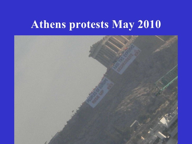 Athens protests May 2010